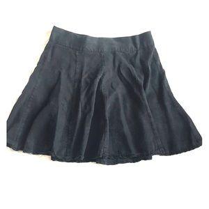 Brandy Melville, OS, black school girl skirt